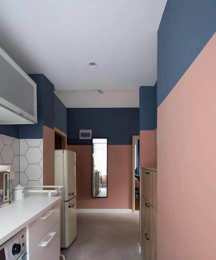 71平米北欧风格(小户型)两室餐厅