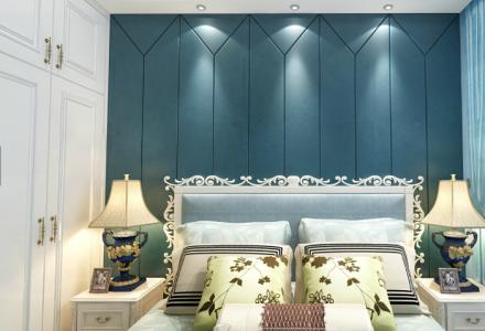 欧式不仅豪华大气,120惬意和浪漫卧室