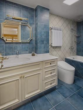 轻奢复古风,日子就该过得精致又优雅卫生间其他设计图片赏析