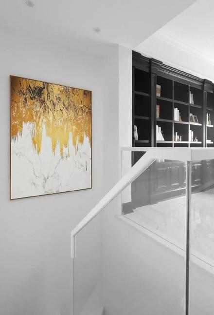 黑﹢金﹢白,打造极简的轻奢空间功能区