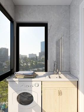 精致典雅的轻奢舒适感阳台其他设计图片赏析