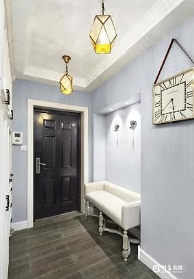 145㎡优雅法式风,把浪漫全部装进家里玄关欧式豪华设计图片赏析