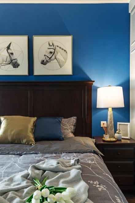 三居室美式风,尽显高雅格调卧室