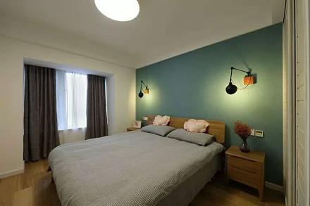 舒适日式风格,装得太美卧室1图