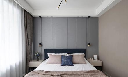 由北欧到轻奢再转变为现代主义的包容卧室