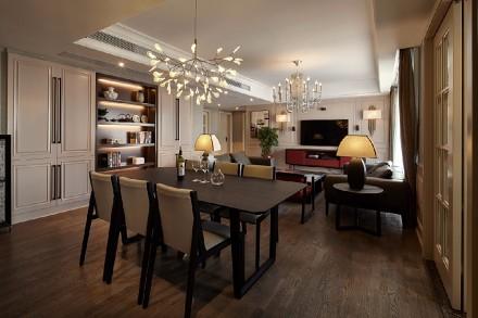 165平方现代时尚潮流混搭风格厨房