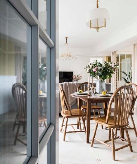 70㎡美式风,让家充满温暖的光厨房