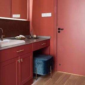 128m²轻奢,每一处都是视觉享受!卫生间潮流混搭设计图片赏析