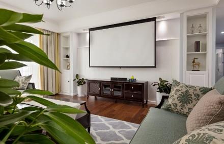 莫非设计美式丽舍旧房改造客厅