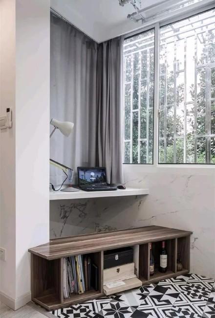 北欧风,单身公寓这样设计,人见人爱!功能区