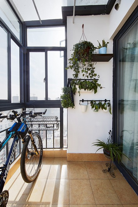 乡村美式风给你一个不一样的家阳台