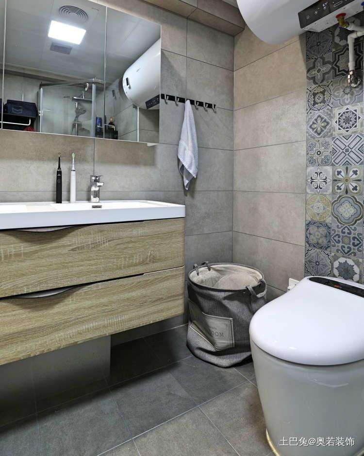 82平米打造两个人的小确幸卫生间现代简约卫生间设计图片赏析