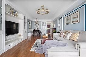130㎡浪漫美式3室2厅,唯美有气质11334734