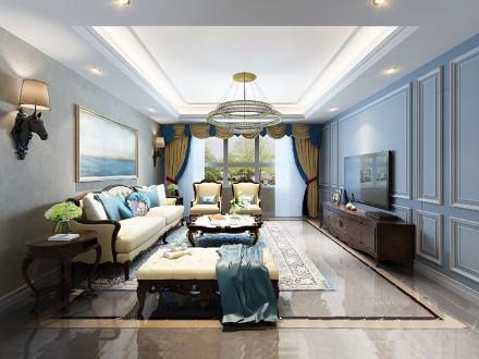 164平米新古典的浪漫情怀卧室
