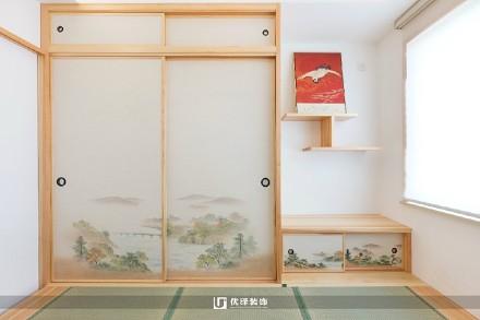 125㎡日式住在禅意里功能区