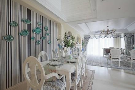 叠拼地中海风格设计案例厨房
