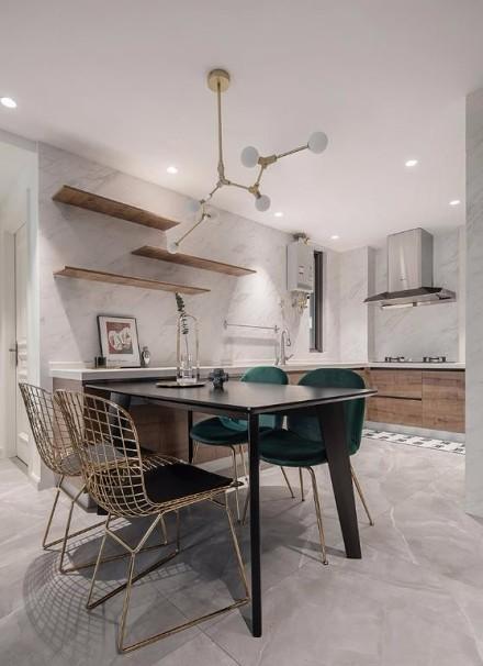 89㎡2居室,高端典雅的代名词厨房3图