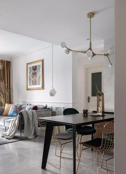 89㎡2居室,高端典雅的代名词厨房1图