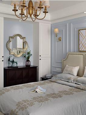 50平的美式风小户型公寓卧室美式田园设计图片赏析