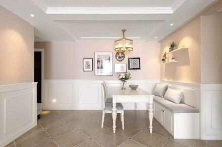 85平米的二居室,美式风厨房2图