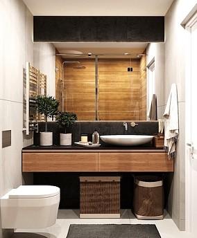 79㎡欧美复古风公寓卫生间其他设计图片赏析