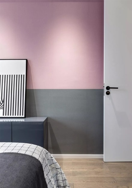 现代简约风格,优雅温馨卧室