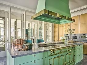 480㎡奢华法式别墅设计餐厅欧式豪华设计图片赏析