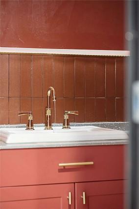128平弘扬小区潮流混搭设计卫生间潮流混搭设计图片赏析