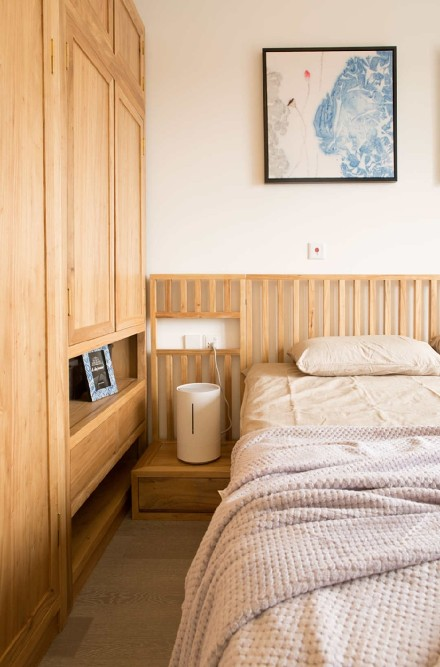 雨晴烟晚·清新感的极简风格家居卧室