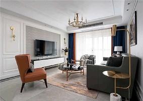 轻奢美式三居二厅,精致又格调的品味生活11462242