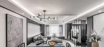 220㎡新中式,低调灰色,禅意轻奢厨房