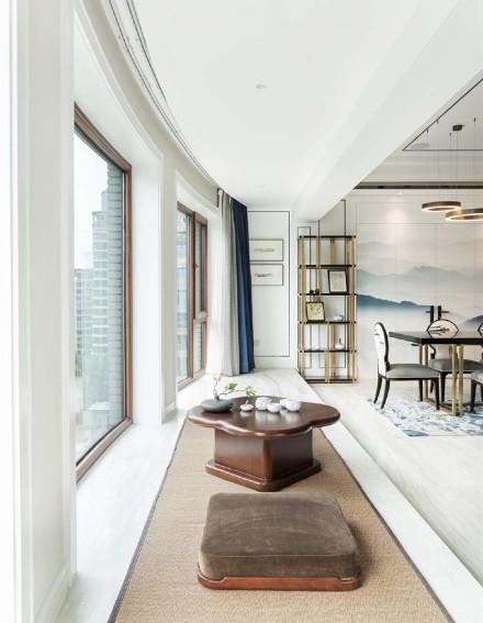 中式风格,知性优雅,格山水之至阳台