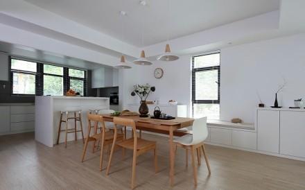 380平雅致空灵的至简生活厨房