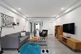 106平三居室现代风,优雅的生活状态11493047