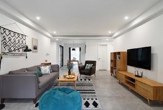 106平三居室现代风,优雅的生活状态