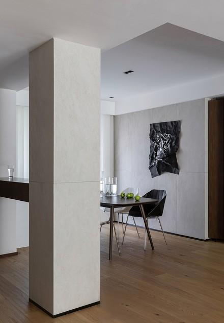 89平极简主义现代日式风格让生活如此恬静厨房