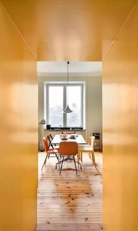 80平米明亮黄,差点靓夏我的眼~厨房