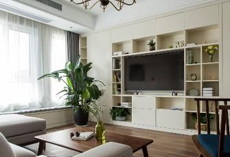 126平混搭四居室,时尚又实用的设计