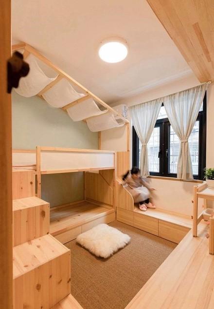 45平米小户型空间,一眼望穿的家卧室