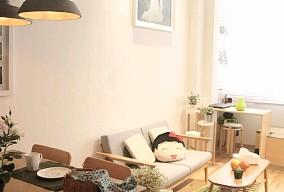 74㎡日式风格,抹茶味的家11556470