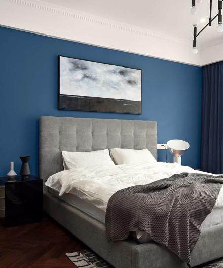 180平现代混搭美式经典干练居家风格卧室