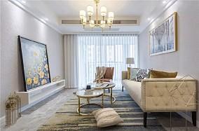 轻奢美式2室2厅,灵动优雅演绎品位生活11589427