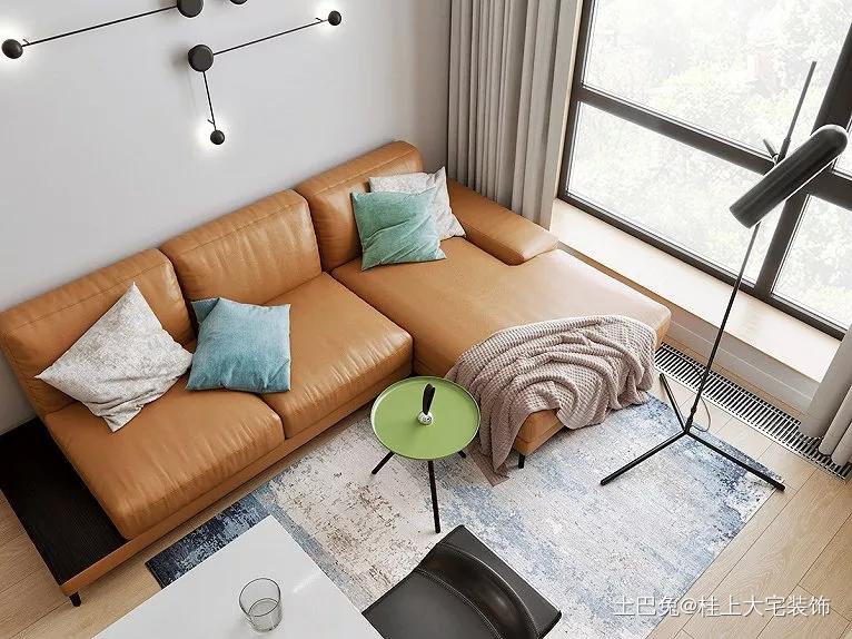52㎡一居室超棒的小户型单身公寓客厅现代简约客厅设计图片赏析