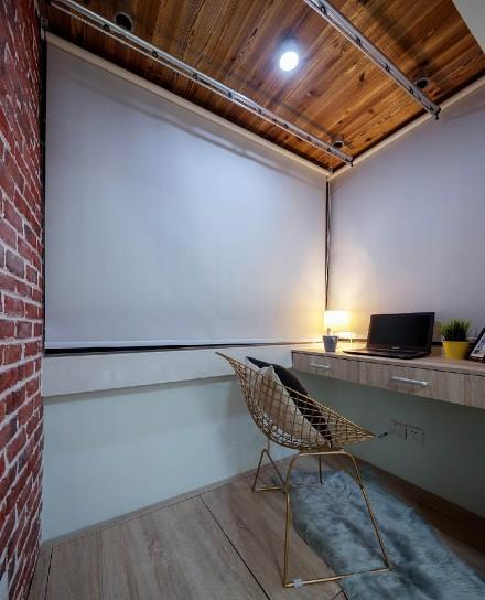 北欧温馨的家,37m²一居室功能区
