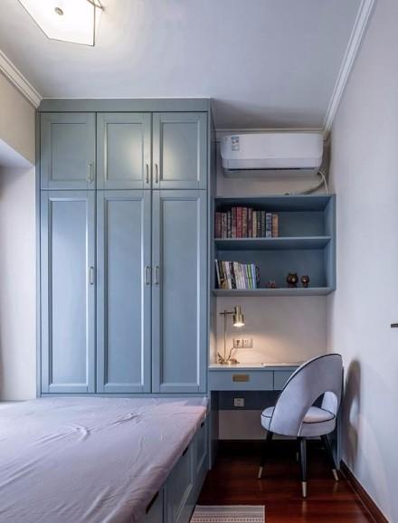 属于我们的温馨轻美式小屋 96㎡美式卧室