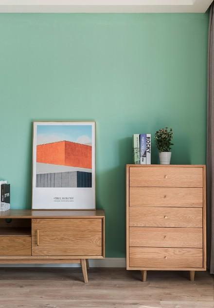 北欧风浪漫四居室,精致与奢华并存功能区