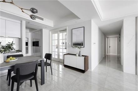 170平米现代简约风格四居室案例图功能区