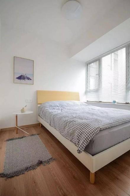 60㎡日式极简清新二居室卧室
