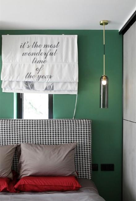40㎡小户型通过凿墙引光,空间感瞬间翻倍卧室