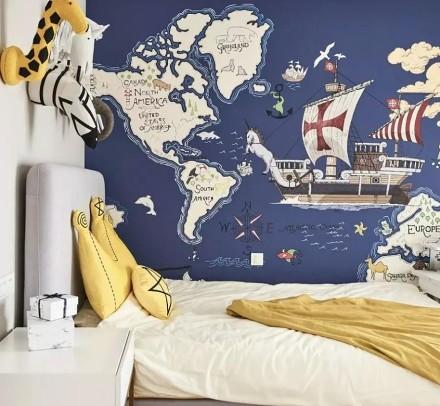 105平米美式风,兼具时尚与轻奢卧室